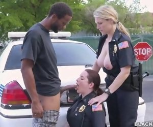 Big Police Booty Porn